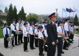 EU zászló avatás